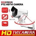 Hot Sell Security HD 1080P TVI PTZ Camera 2MP 6mm Lens Pan/Tilt Rotation Outdoor Bullet Surveillance Security Camera IR 30M
