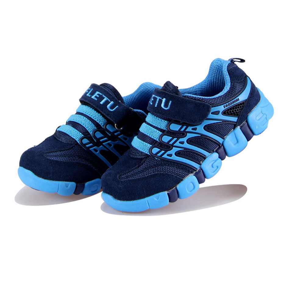 Top Quality Boys Sneakers Genuine Leather Kids Sport Shoes Breathable Mesh Children Boy Run Shoes Casual Teens Footwear new kids sneakers boys running shoes breathable mesh fashion kids shoes boys girls sport shoes kids casual sapatos infant