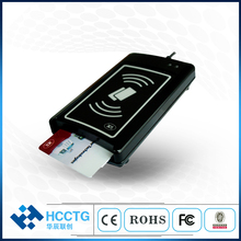 Double Interface USB NFC + IC puce tablette PC ISO 7816 lecteur de carte à puce ACR1281U-C1
