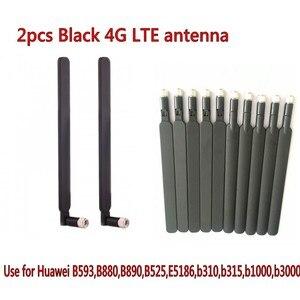 Черный 2 шт. B315 B310 B593 B525 B880 B890 E5186 5dBi SMA Male 4G LTE роутер антенна
