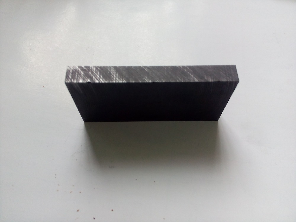 100x50x10mm High Purity Graphite Blocks Graphite Electrode Block Graphite Mat Graphite Slide Block