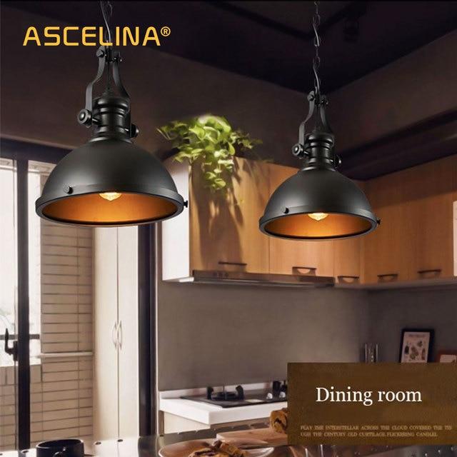 US $21.18 |Industrielle Anhänger Licht Vintage anhänger Lampe Retro Loft  Rostschutz klassische wohnzimmer restaurant Cafe bar Dekorative beleuchtung  ...
