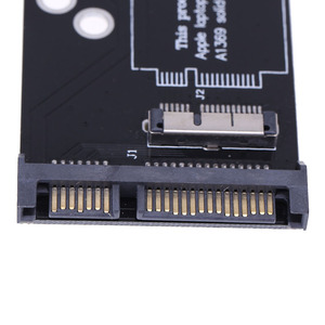 Image 5 - Placa Convertidora de 6 + 12 pines SSD a SATA para Apple 2010 2011, para MacBook Air A1370, A1369, SSD a SATA de 2,5 pulgadas, 22 pines