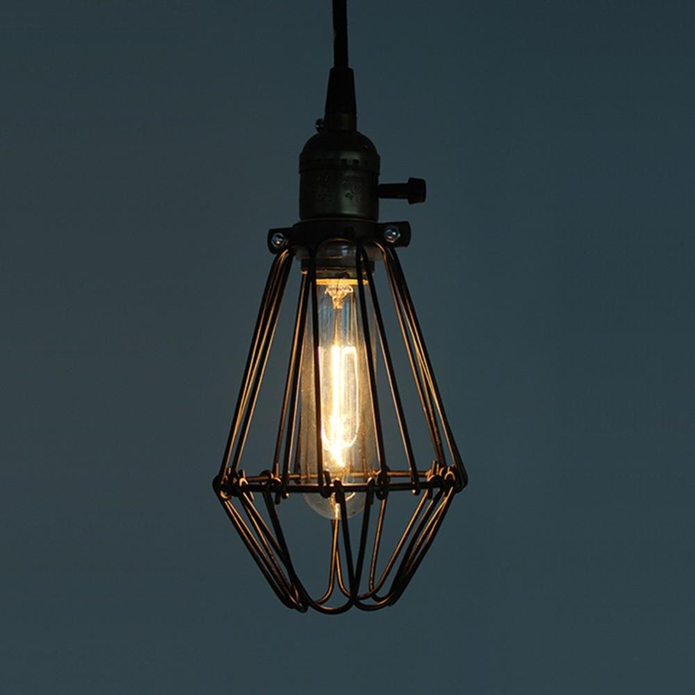 Buy loft knob switch lamp vintage pendant - Lampara industrial vintage ...