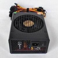 1800W 180V 260V ATX 24pin Power Supply Platinum Efficiency Support 6 Video Card for Mining XXM8