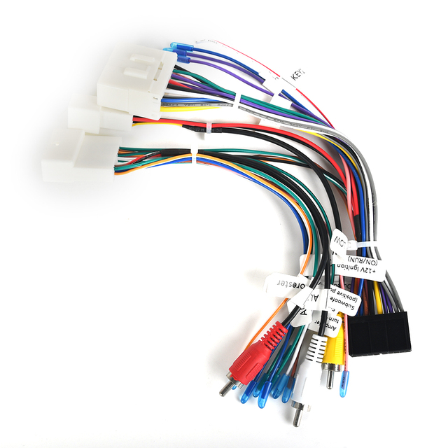 audio wire harness wiring diagram general L322 Audio Wiring Harness