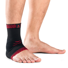 Kuangmi 1 PC Sport Ankle Sleeve Sweat-absorbent breathable knit fabric ankle support Prevent sprain brace Christmas