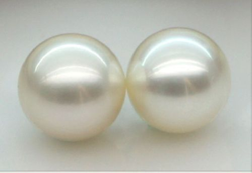 free shipping charming pair 10-9 mm south sea white loose pearls half drilled free shipping imitation pearls chain flatback resin material half pearls chain many styles to choose one roll per lot