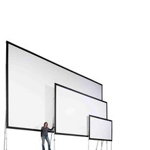 Fast Fold Projection Screen Quick with aluminum box 200 inches Front  Rear Projector Screen