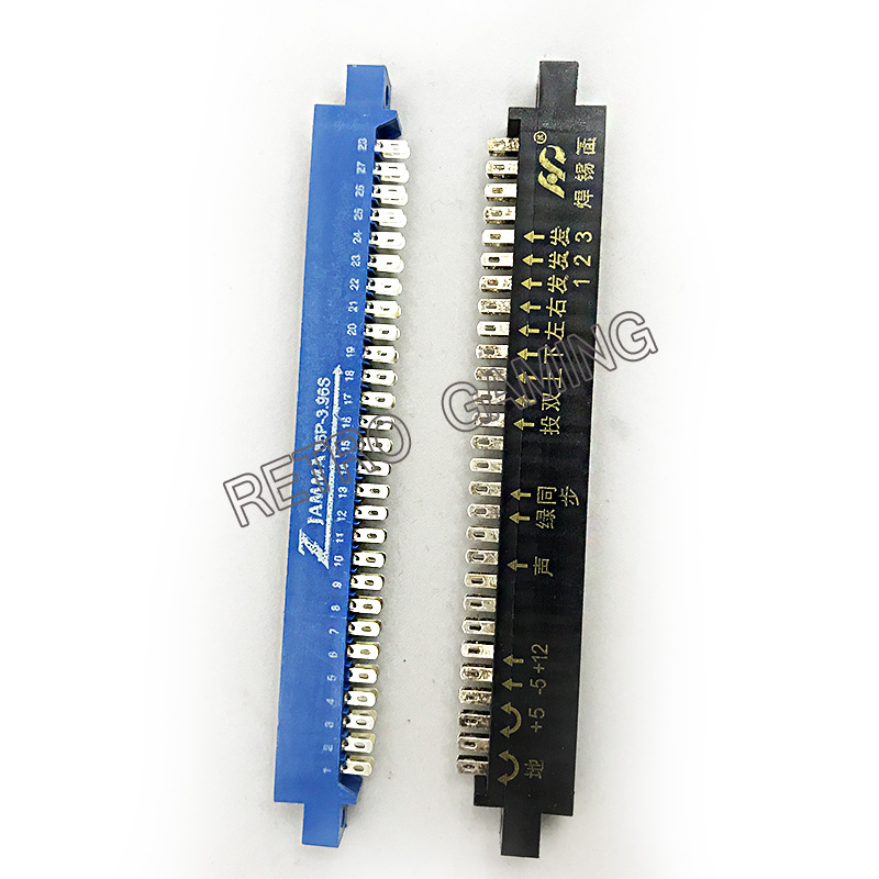 Aliexpress Com   Buy 2pcs  Lot 2 28pin Blue Jamma Connector