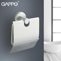 GAPPO Paper Holders space aluminum toilet paper holders wall mounted paper holder bars toilet holders Bathroom accessories