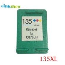 Ink Cartridge For HP 135 Photosmart 2573 2613 8753 PSC 1600 1613 2350 2355 Deskjet 460 5743 5940 5943 6843 6940