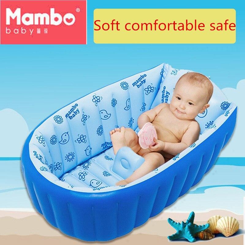Baby Bath Kids Bathtub Portable Inflatable keep warm Foot air pump ...