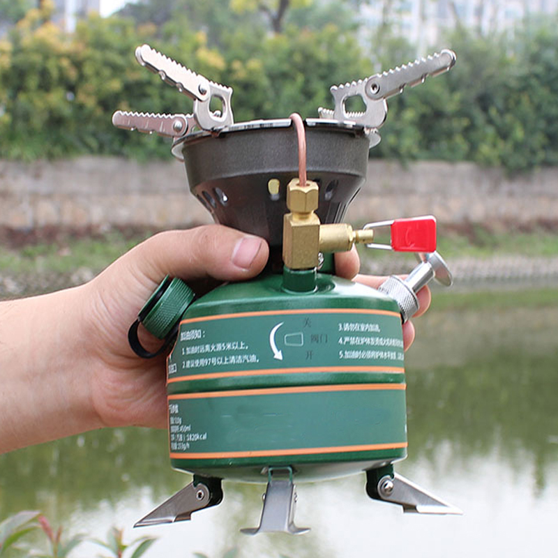 High quality outdoor camping cooking portable oil furnace fuel boiler non preheated fuel oil stove picnic