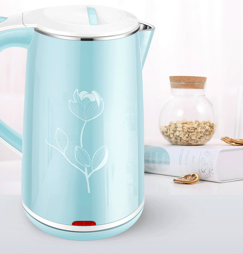 Electric kettle household automatic power cut insulation 304 stainless steel large capacity pot boiling tea electric kettle boiling pot 304 stainless steel home insulation 1 7l