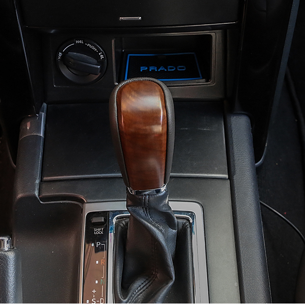 Punched Black Leather//Piano Black SHIFTIN Universal Sport Automatic 8mm Leather Wood Gear Shift Knob for Toyota Camry Avalon Lexus ES330 GS300 IS250 RX350