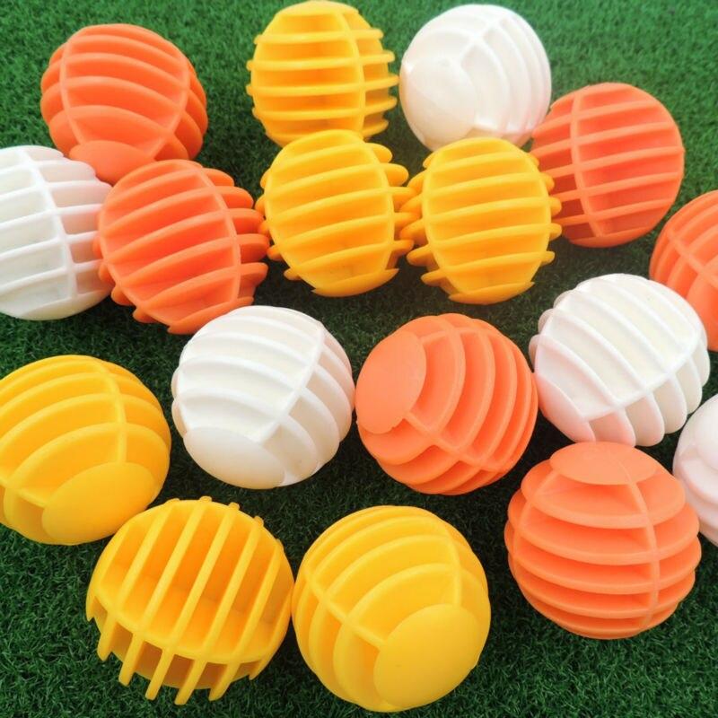 10 Pcs Plastic Golf Balls Gird Golf Ball