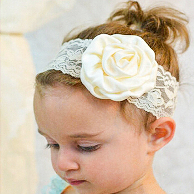 9 Couleurs Nouveau Bebe Cheveux Rose Bandeau Fleur Serre Tete