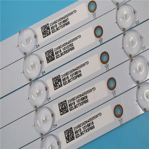 Image 4 - 新しいキット 5 個 10LED (3 V) 842.5 ミリメートル LED バックライトストリップ 43PFT4131 43PFS5301 GJ 2K15 430 D510 GJ 2K16 430 D510 V4 01Q58 A