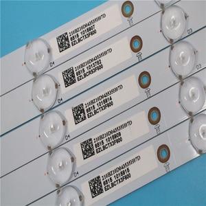 Image 4 - Neue Kit 5 PCS 10LED (3 V) 842,5mm led hintergrundbeleuchtung streifen für 43PFT4131 43PFS5301 GJ 2K15 430 D510 GJ 2K16 430 D510 V4 01Q58 A