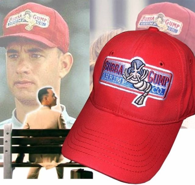 3e1f93f2979 Forrest Gump hat Cosplay Red Cap-in Baseball Caps from Apparel ...