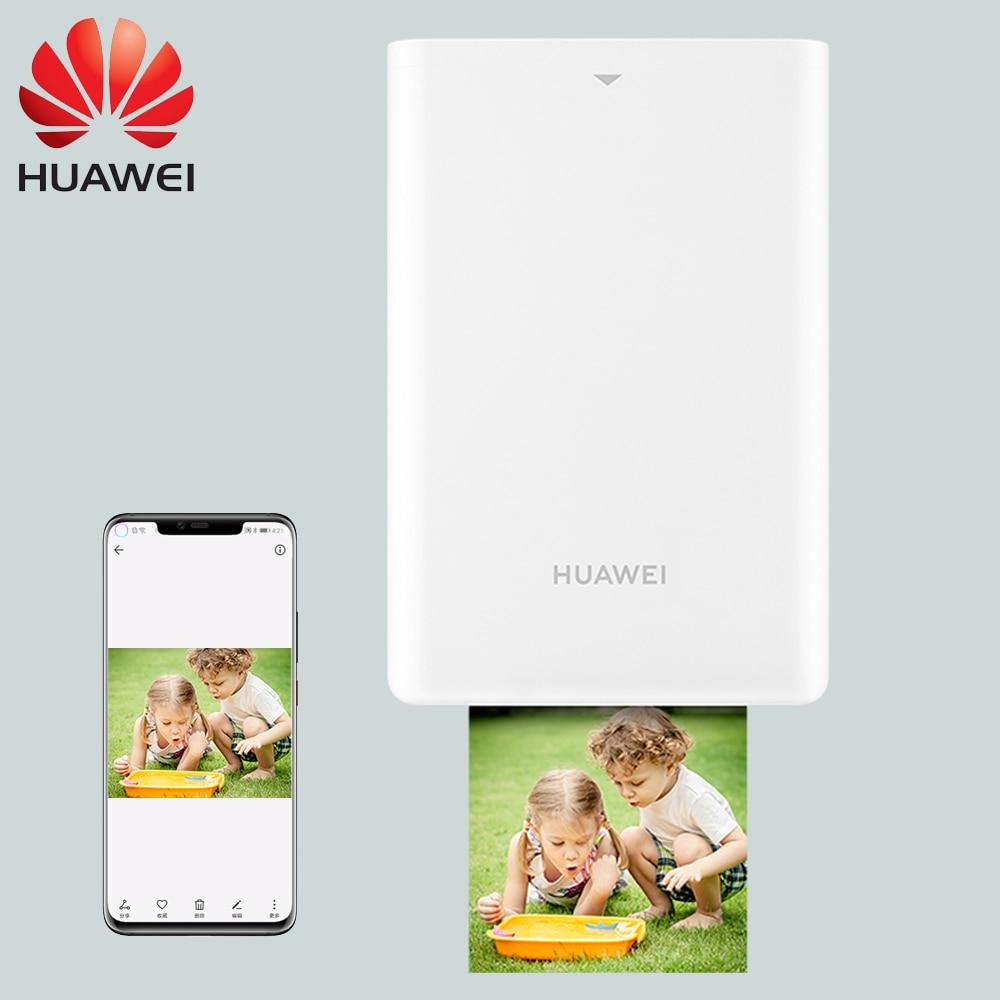 Original Huawei Mini Photo Printer AR Zink Portable Printer Pocket Printer Bluetooth 4 1 Support DIY