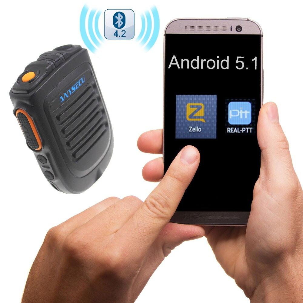 Bluetooth sans fil haut parleur Microphone Zello PTT Bluetooth pour 4G système Android téléphone mobile talkie walkie téléphone-in Talkie Walkie from Téléphones portables et télécommunications on AliExpress - 11.11_Double 11_Singles' Day 1