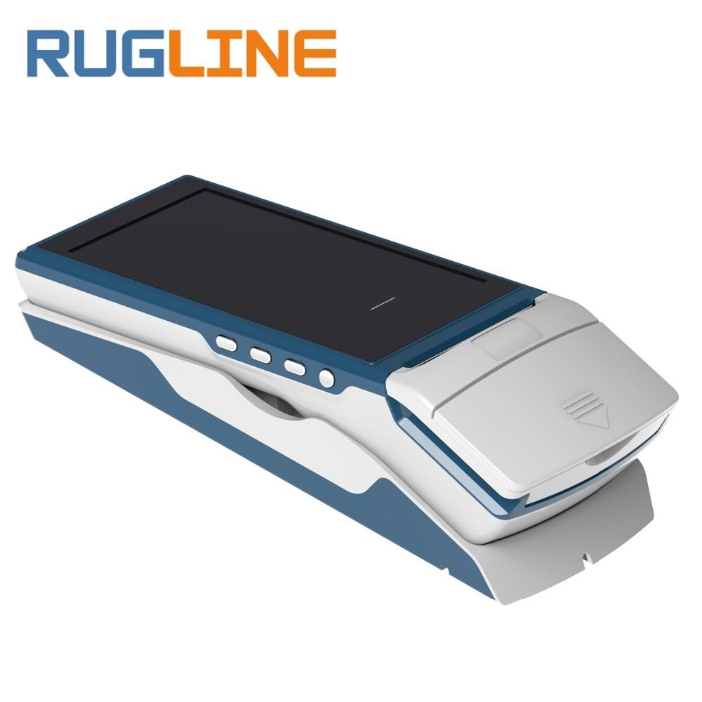 5.5 polegada de tela grande Android 6.0 sistema de pagamento sem fio scanner de código QR handheld terminal POS móvel com 3G WI-FI Bluetooth