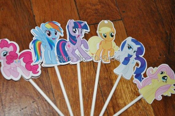 Edible My Little Pony Cake Decorations