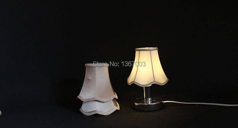 Moderne Lampen 13 : 13 cm mode reflektor kronleuchter seide lampe shades kleine