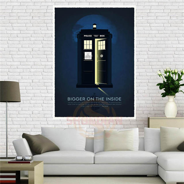 aliexpress com buy custom canvas poster doctor who 50th