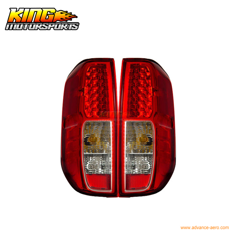 For 05-06 07 08 Nissan Frontier LED Tail Lights Red Clear USA Domestic Free Shipping for nissan gtr gtr r35 led tail lights 2007 red