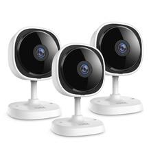 SANNCE 3 חתיכות 1080P Fisheye IP מצלמה אלחוטי Wifi מיני אבטחת בית לנטנה 2MP HD ראיית לילה IR לחתוך Wi Fi תינוק צג