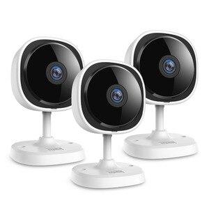 Image 1 - SANNCE 3 Pieces 1080P Fisheye IP Camera Wireless Wifi Mini Home Security Camara 2MP HD Night Vision IR Cut Wi Fi Baby Monitor