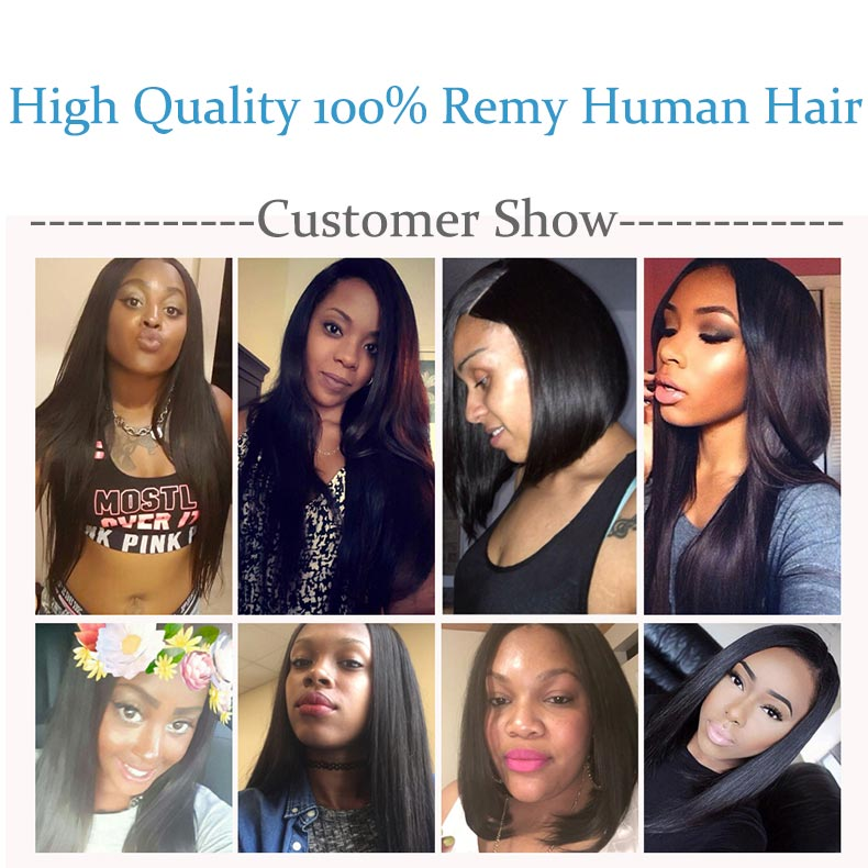Remy Blue Raw Indian Hair 4 Bundles With Closure Straight Human Hair Weave Extensions Natural Color Thick Bundles With Closure (50)