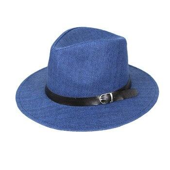 MUQGEW Spring And Summer Hats Men Belt Buckle Top Hat Comfortable Fashion Elegant Cap Classic modis Streetwear Caps sombreros