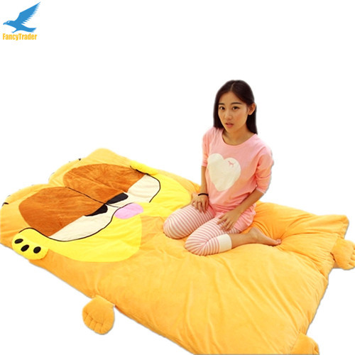 Fancytrader  Anime Garfield Beanbag Soft Giant Plush Cat Bed Carpet Tatami Sofa Sleeping Bed Nice Gift FT90904 (2)