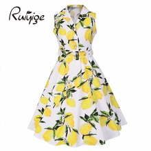 Женское платье-свитер 2017 RUIYIGE 1950 s