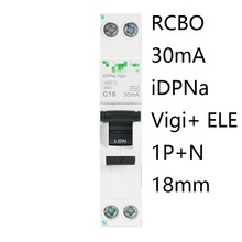 Circuit-Breaker RCBO Idpna Protection-Mcb 30MA Residual-Current Leakage 32A 230V 16A