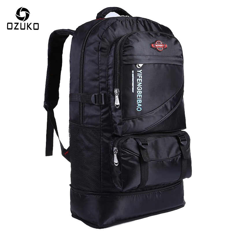 ad2ca5fcb35c OZUKO 2018 New Large Capacity Travel Backpack Waterproof multi-function  Teenagers Women Men Adjustable Waterproof