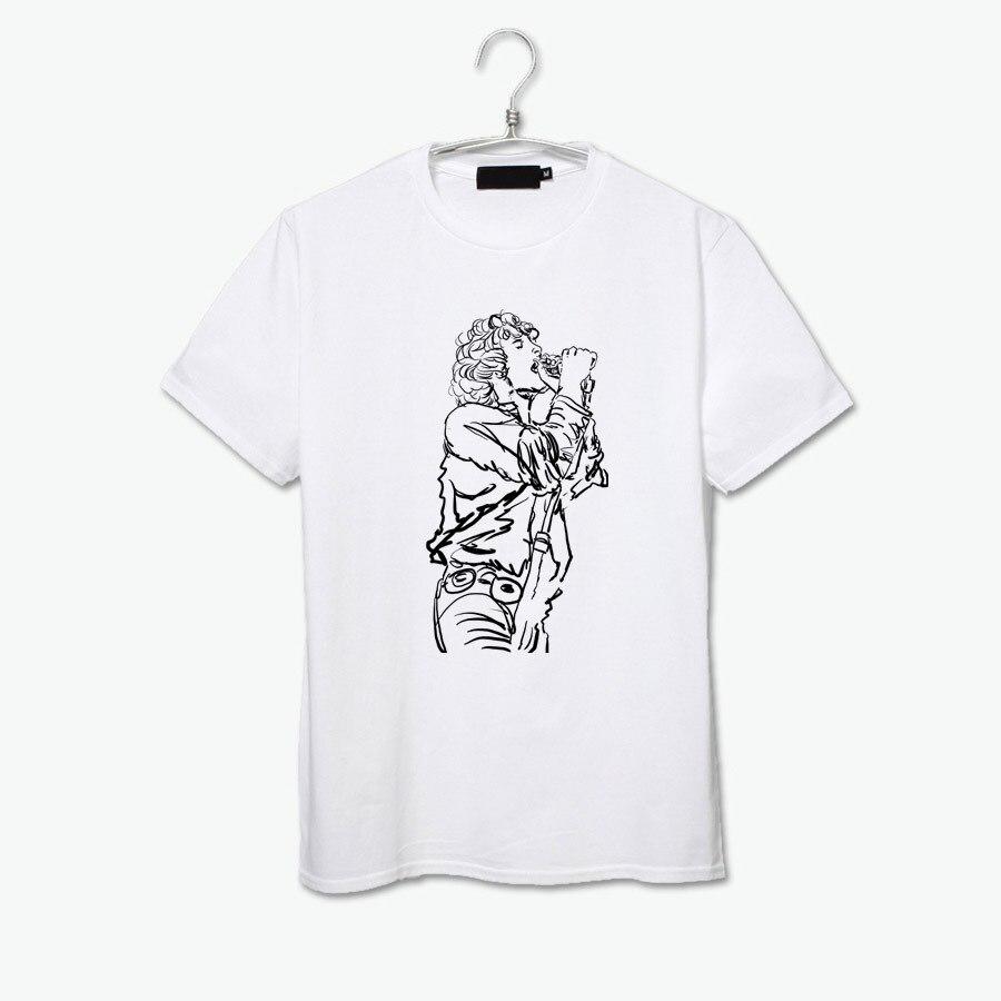 Shirt design sketches - Jim Morrison The Doors Love Me 2 Times Alabama Song Sketch Original Design Rock Art T