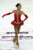 Crystal Custom Figure Skating Dresses Girls New Brand Ice Skating Dresses For Competition DR4597