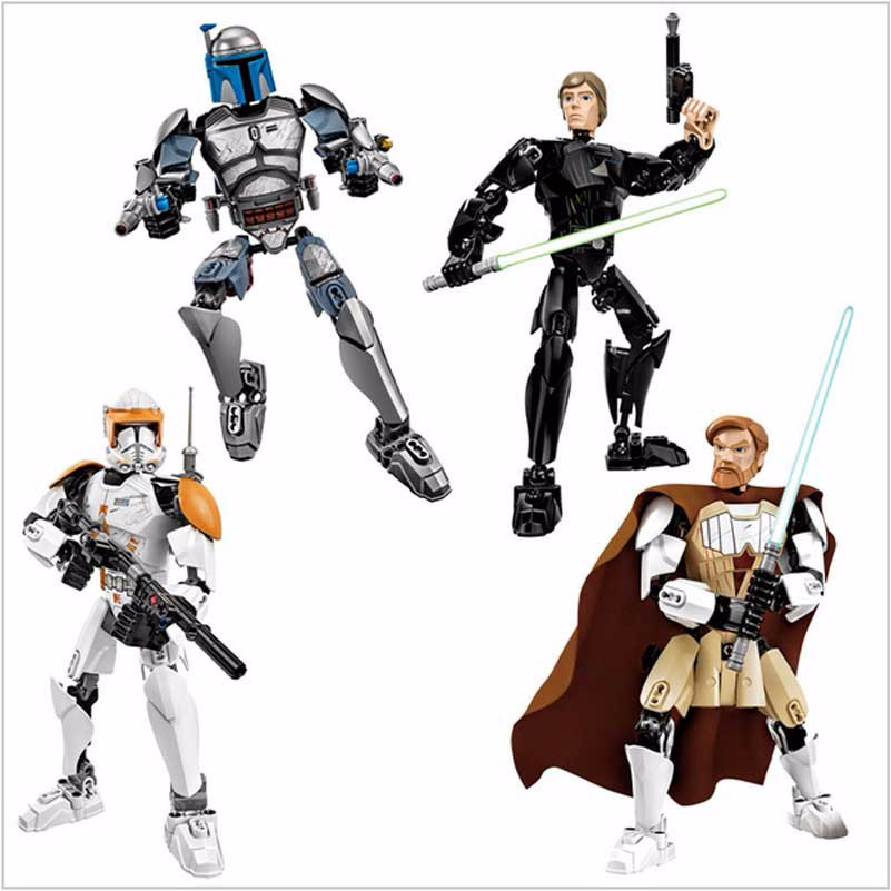 LegoINGly Star Wars Les super héros Luke Skywalker Les guerriers - Concepteurs et jouets de construction - Photo 1