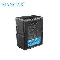 Maxoak V158 10700 мАч 14,8 В V крепление Батарея с адаптером Зарядное устройство V блокировки Батарея для sony видеокамеры/видео камеры/BMCC