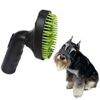 Dog Vacuum Grooming Brush