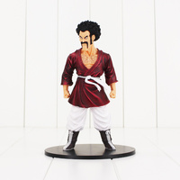 19cm Dragon Ball Z Figure Toy Hercule Mark Mr Satan Martial Arts Champion Videl Father Anime