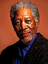 D1125 Morgan Freeman Art Portrait Actor-Print Silk Art Wall Poster(China)