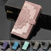 Leather Flip Case For Xiaomi Redmi 8 6 6