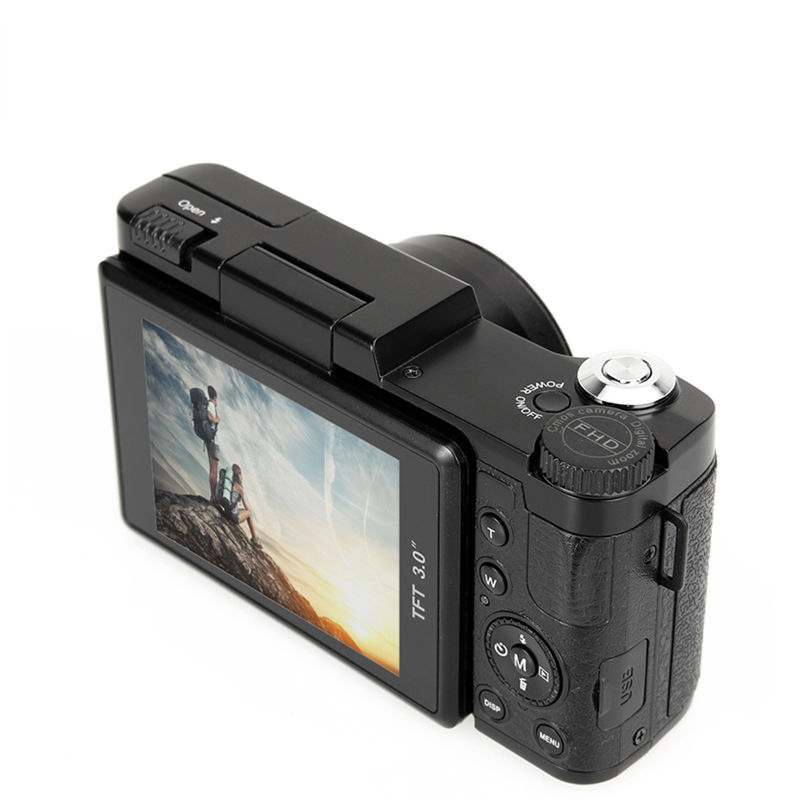 MEMTEQ 3 TFT LCD Full HD 24MP Digital Camera Video 1080P Camcorder CMOS Video Lens  + Filter Mini Digital CameraMEMTEQ 3 TFT LCD Full HD 24MP Digital Camera Video 1080P Camcorder CMOS Video Lens  + Filter Mini Digital Camera