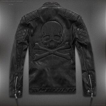 9a7ffed8e53 Product Offer. Лидер продаж! Высокое качество Новинка весны модные кожаные  куртки для мужчин